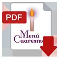 PDF Menú Cuaresma